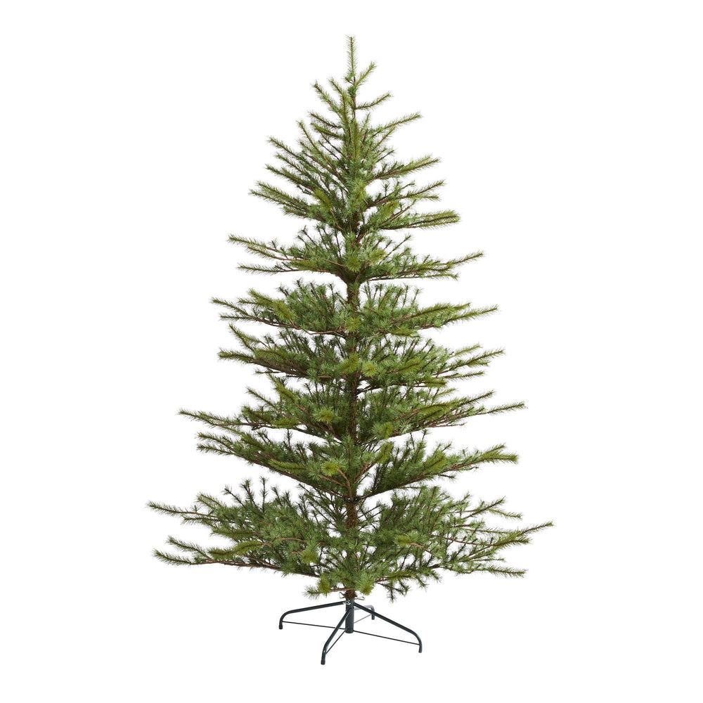 7' Vancouver Mountain Pine Artificial Christmas Tree with 374 Bendable Branches