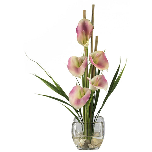 Lilies Arrangements Nearly Natural