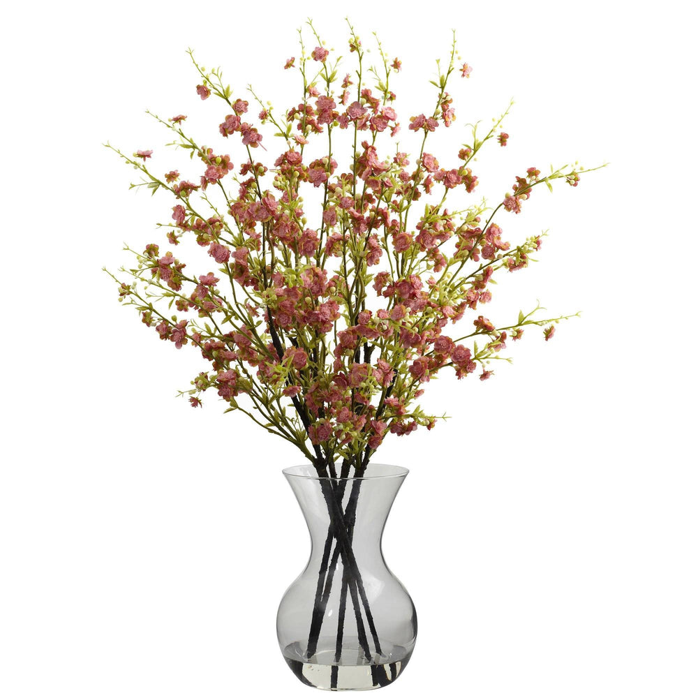 Cherry Blossoms w/Vase Arrangement