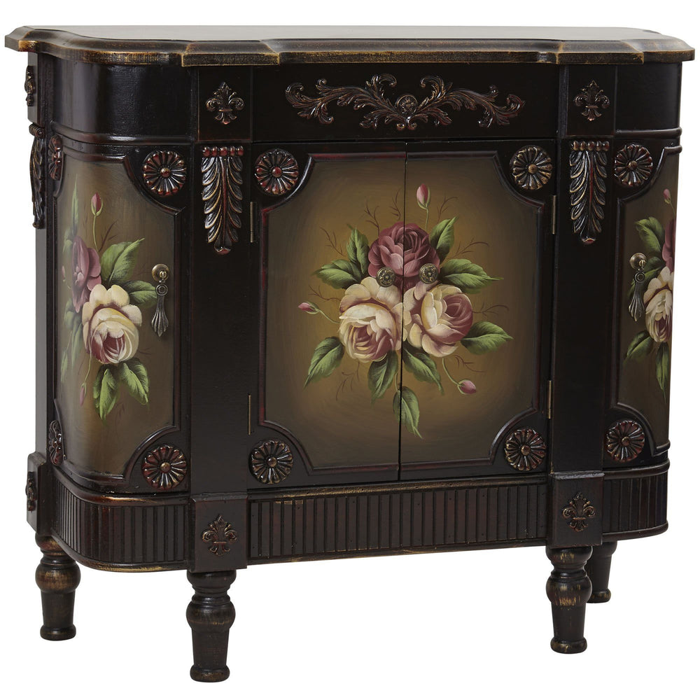 French Vintage Style Floor Cabinet