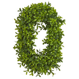 """LOVE"" Boxwood Artificial Wall Decoration (Indoor/Outdoor)"