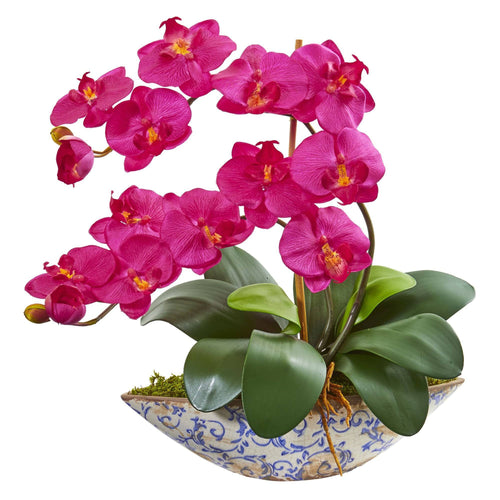 Orchids Arrangements Nearly Natural