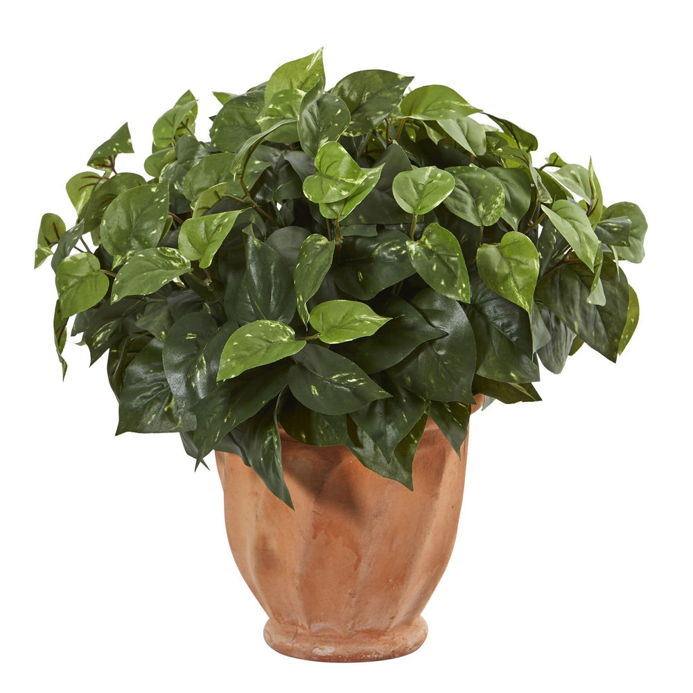 Pothos Artificial Plant in Terracotta Planter