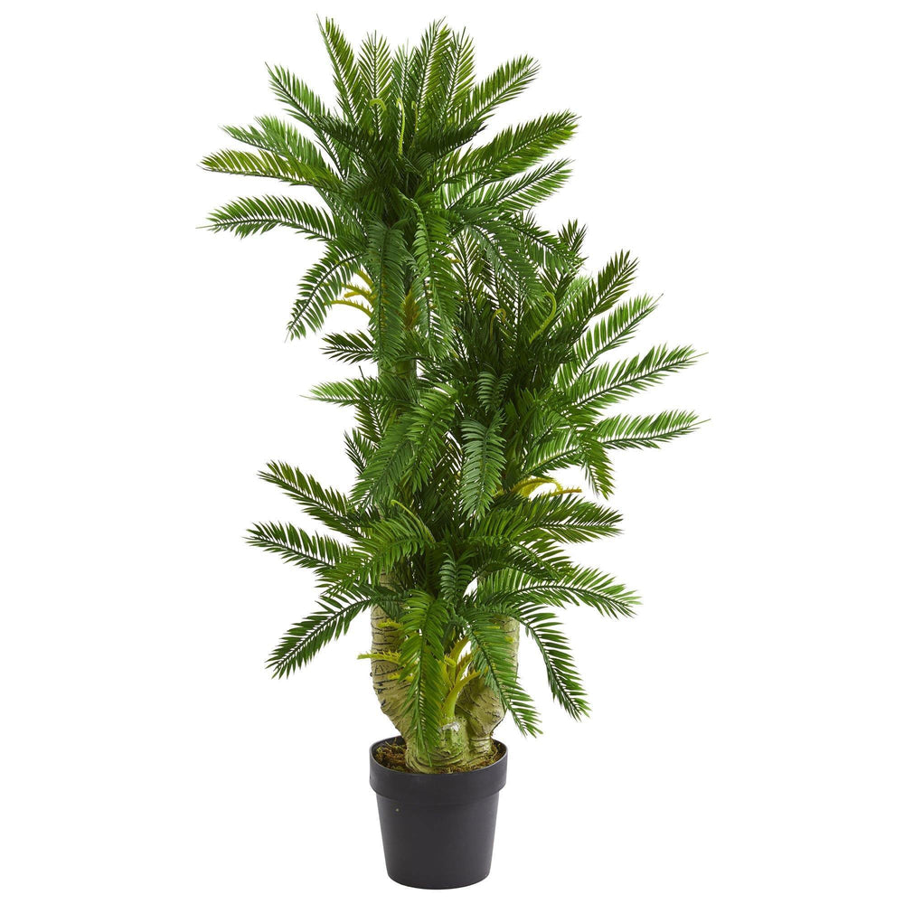 Triple Potted Cycas Artificial Plant