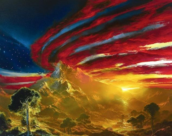 Let Freedom Shine Dale TerBush, Giclee On Canvas - Limited Edition