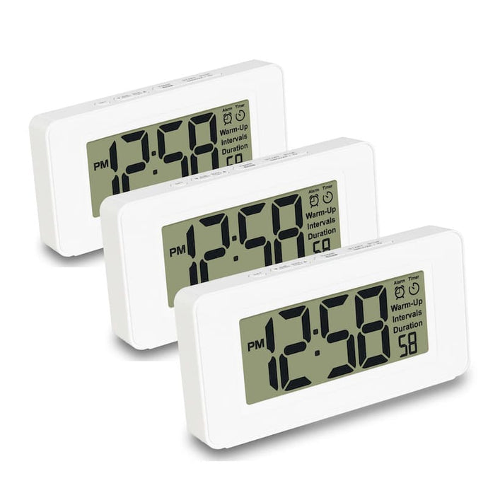 Awake Meditation Timer + Alarm Clock - THREE PACK