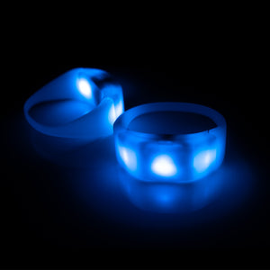 Premium 3-LED Controllable Wristbands