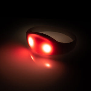 Light Up Bracelets - Automatic Sound Activated LED Wristband for Event