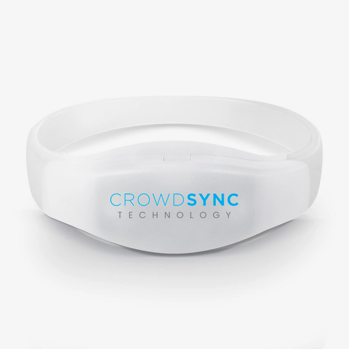 CrowdSync LED Controllable Wristbands
