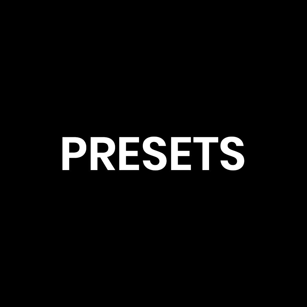 Presets / Patches