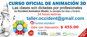 Occidental Animation - Curso Oficial de Animación 3D