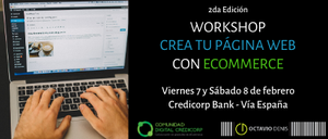 WorkShop Crea tu página Web con eCommerce - 2da Edición
