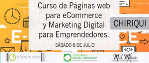 Curso de Páginas web para eCommerce y Marketing Digital - Chiriquí