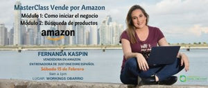 Construye tu negocio On Line y vende en Amazon
