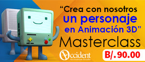 Occidental Animation- Masterclass de animacion 3D ONLINE