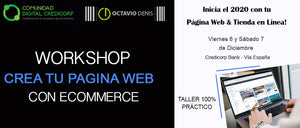 WorkShop Crea tu página Web con eCommerce - 6ta Edición