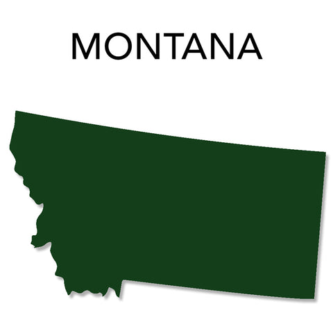 Image of Montana Map