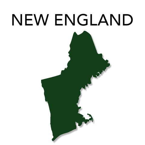 Image of New England Map
