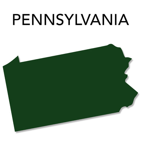 Image of Pennsylvania Map
