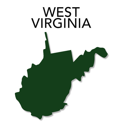 Image of West Virginia Map