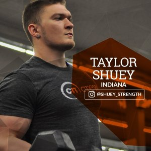 Taylor is becoming a certified personal trainer. He's a competitive powerlifter and soon-to-be bodybuilder. He first joined the fitness world while conditioning in high school football. He's a former offensive lineman and defensive end. He then realized he loved weight training for football more than the actual sport itself. His passion for fitness has continued to grow tremendously into powerlifting and now bodybuilding too.