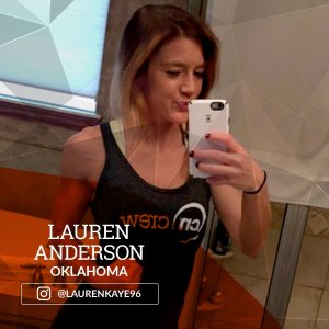 Lauren is an NASM certified personal trainer currently studying at Oklahoma State University. She fell in love with fitness after recovering from a severe eating disorder. Her current goal is to help and inspire as many people as possible through her fitness journey.
