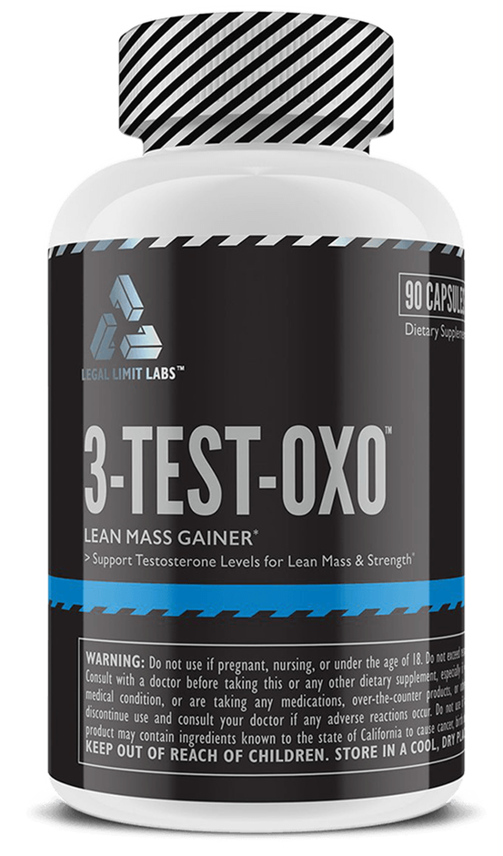 Legal Limit Labs 3-TEST-OXO Lean Mass Gainer