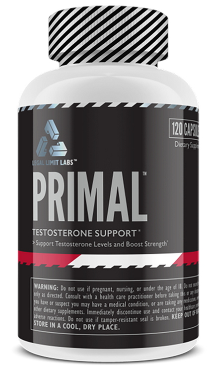 Legal Limit Labs PRIMAL Testosterone Support