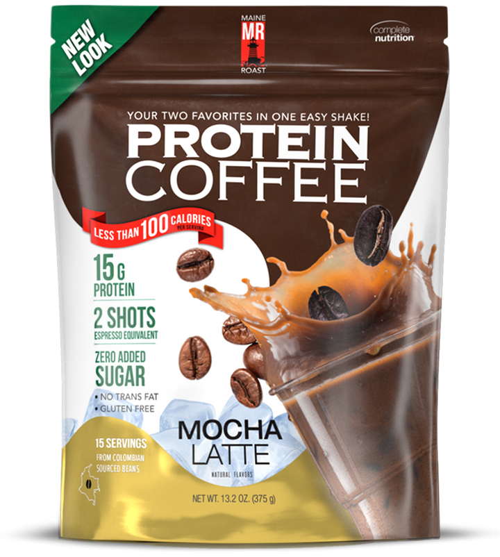 Maine Roast Protein Coffee - Mocha Latte