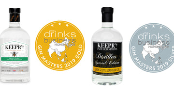 More accolades for Keepr's gins in Asia