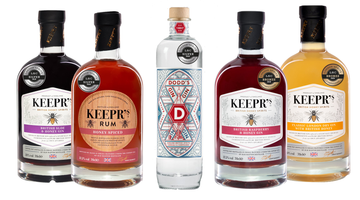 Keepr's Spirits and Dodd's Gin shine bright at London Spirits Competition