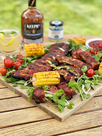 Bourbon Barbecued Ribs