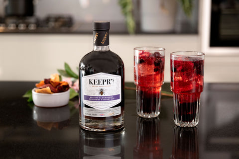 British Elderberry, Mulberry & Honey Gin