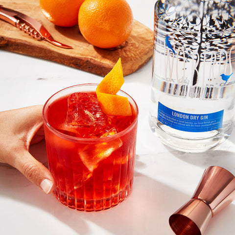 Two Birds Negroni Cocktail