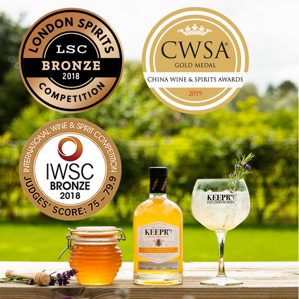 Honey Gin awards