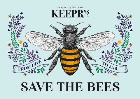 Save the bees flyer