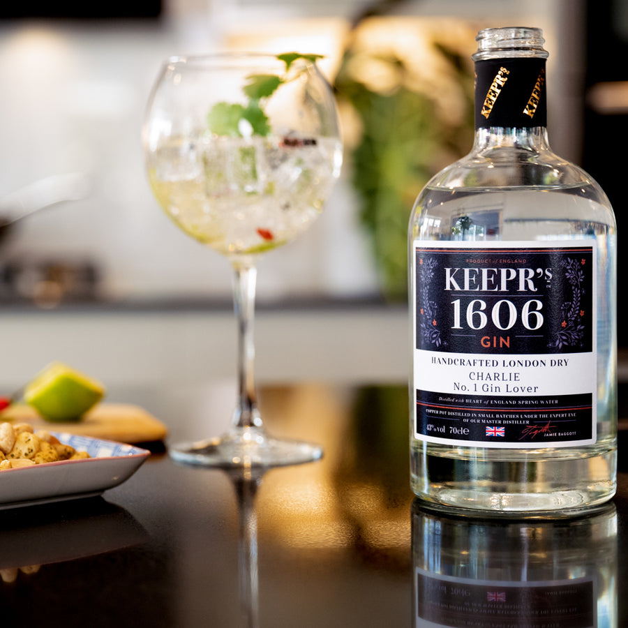 1606 LONDON DRY GIN 43% CUSTOMISED - The British Honey Company PLC