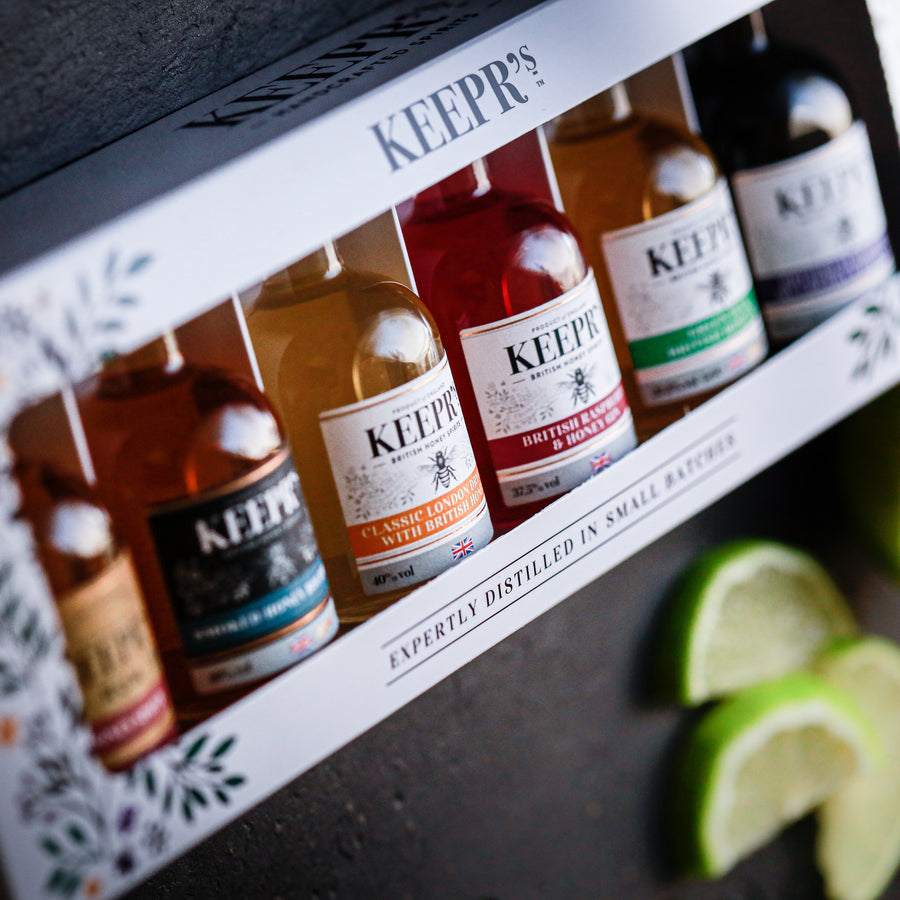 Keepr's Honey Spirits Gift Set 6 x 5cl