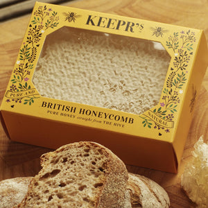 BRITISH HONEY COMB 190g - The British Honey Company PLC