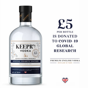 SPECIAL CHARITY EDITION VODKA 40%VOL