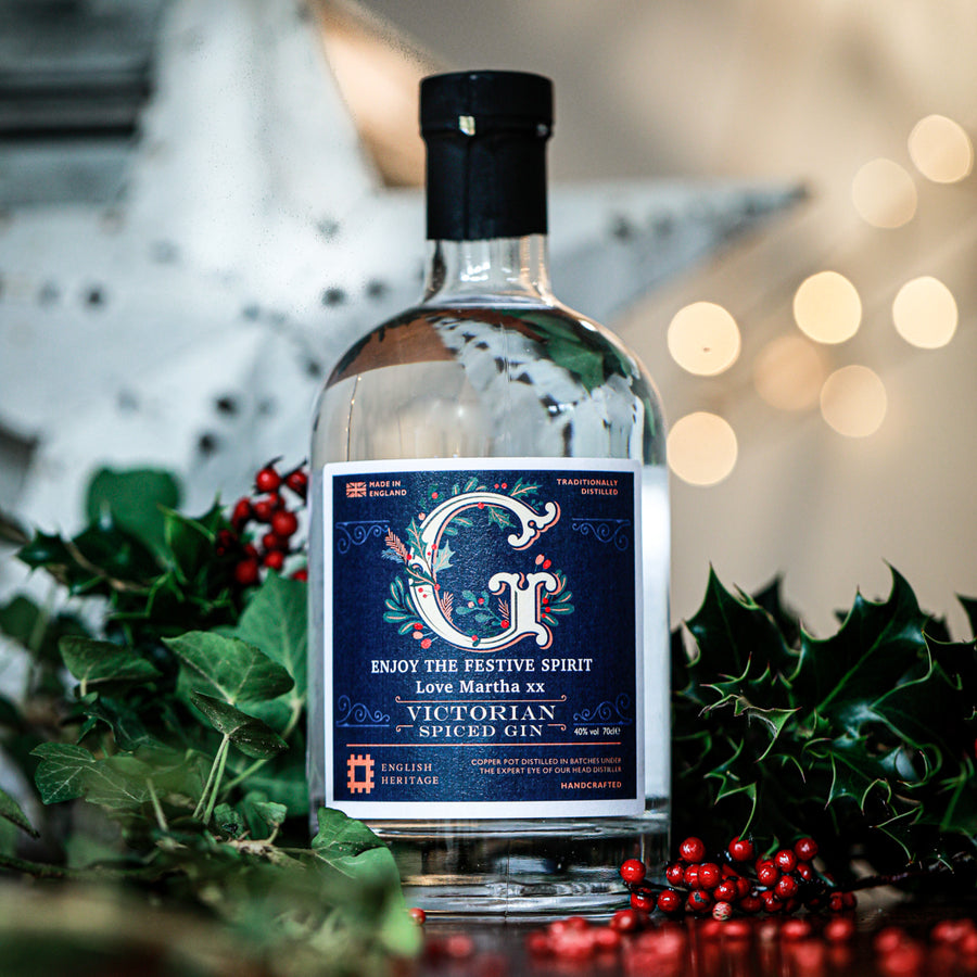 English Heritage Special Edition Victorian Spiced Gin (Personalised)