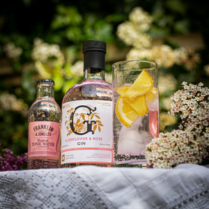 English Heritage Elderflower & Rose Gin 40%VOL