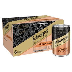 Schweppes Signature Collection Ginger 6 x 150ml