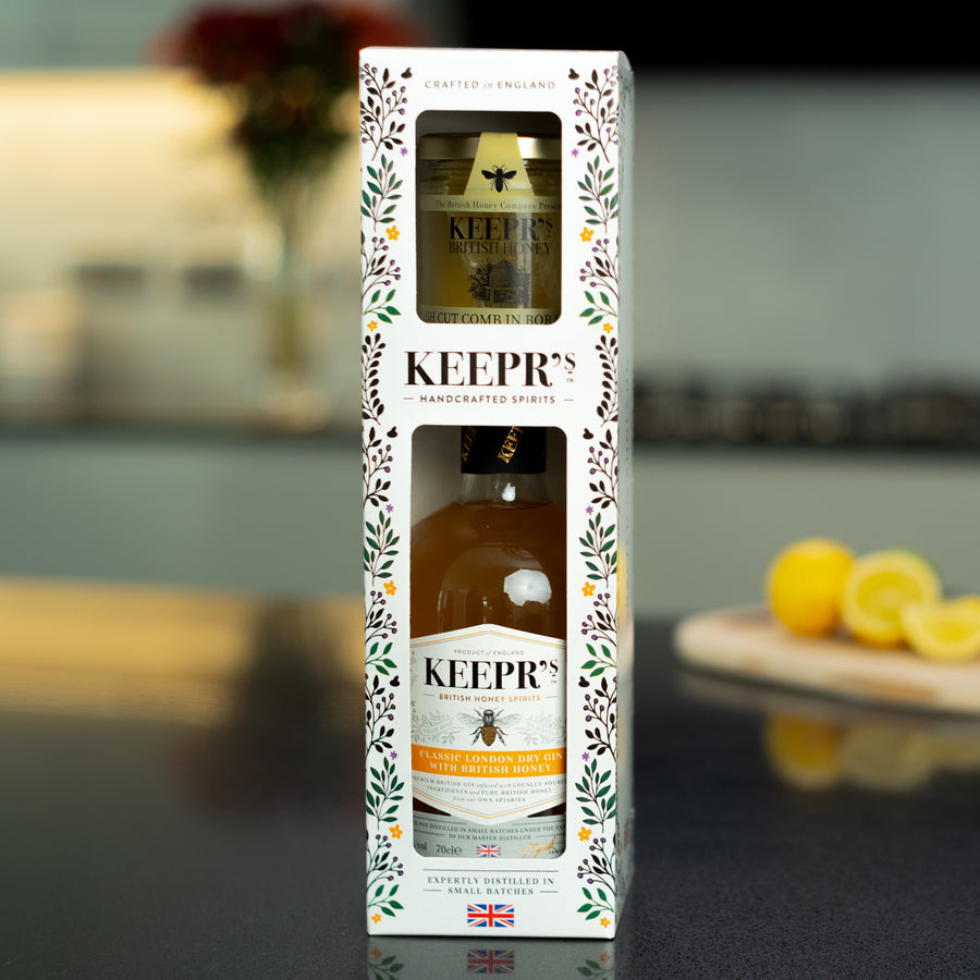 KEEPR'S HONEY LOVERS GIFT BOX - The British Honey Company PLC