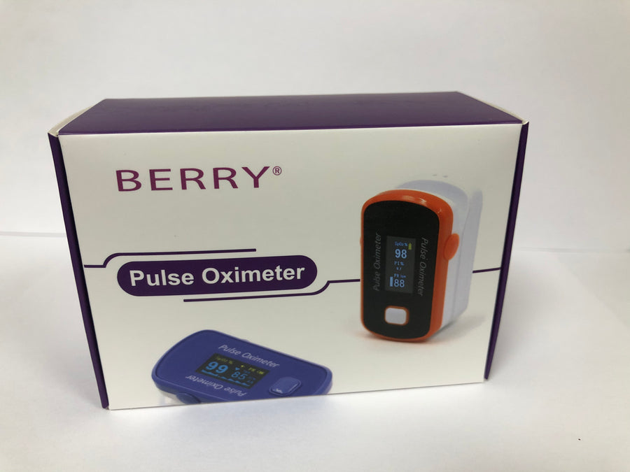 Pulse Oximeter - measures oxygen saturation levels - The British Honey Company PLC