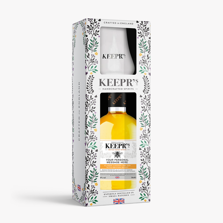 KEEPR'S HONEY GIN TASTING GIFT BOX (CUSTOMISED OPTION AVAILABLE)