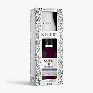 KEEPR'S ELDERBERRY GIN TASTING GIFT BOX (CUSTOMISED OPTION AVAILABLE)