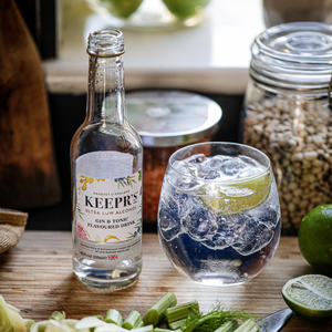 12 x KEEPR'S ULTRA LOW ALCOHOL GIN & TONIC FLAVOURED DRINK <0.5%