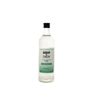 DRIP+DROP 70%ABV Alcohol Sanitiser with British honey & extracts of green tea. 1L - The British Honey Company PLC