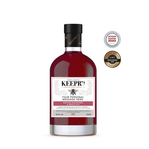 BRITISH RASPBERRY & HONEY GIN 37.5%VOL (PERSONALISED)